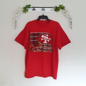 San Francisco 49ers NFL Football Short Sleeve Top